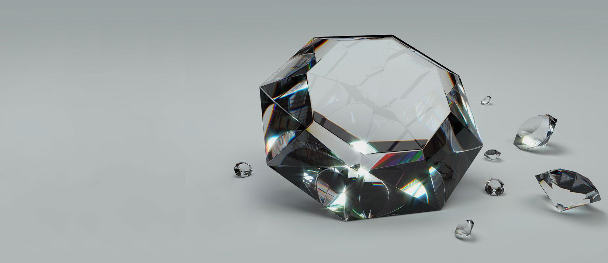 Lame a nastro diamantate